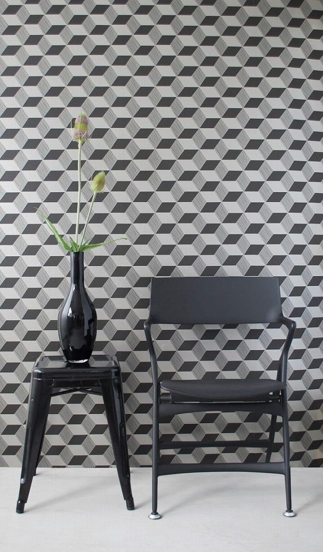 Ferm Living Geometric Wallpaper - Squares