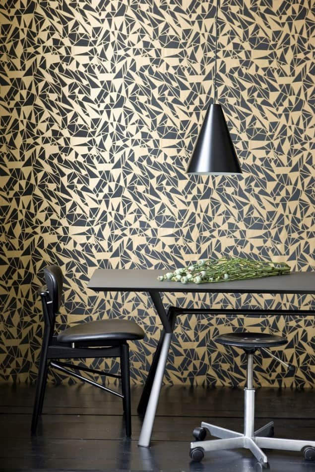 Ferm Living Geometric Wallpaper - Monroe
