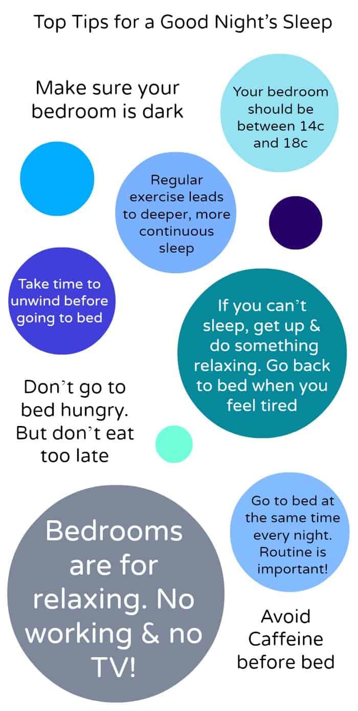 Hastens Top Tips for Good Sleep