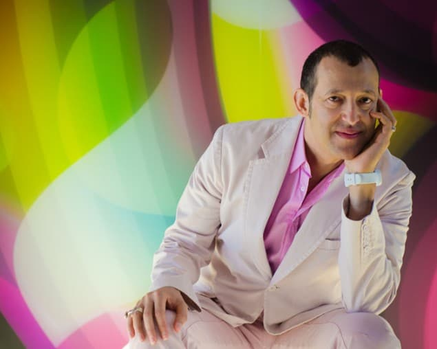 Karim Rashid designer of the nHow Hotel Berlin