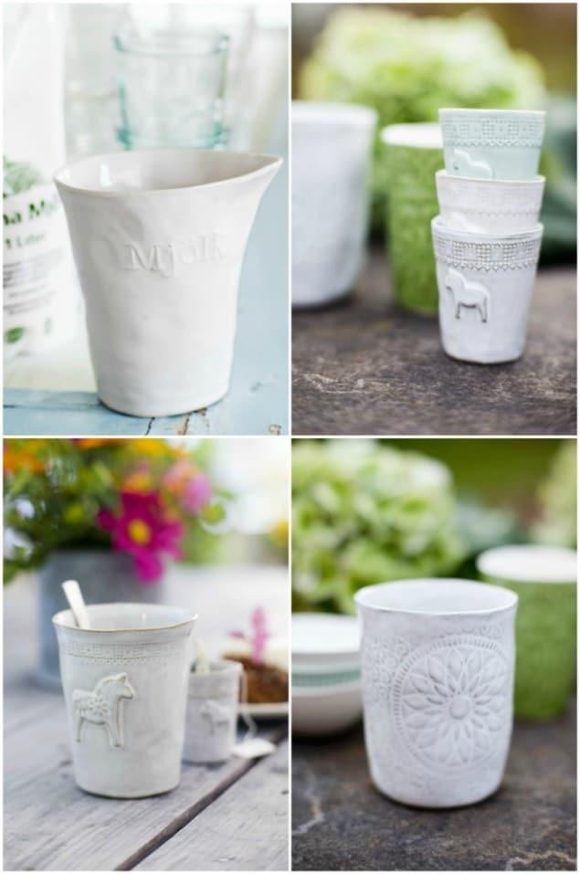 Mia Blanche Ceramics in White