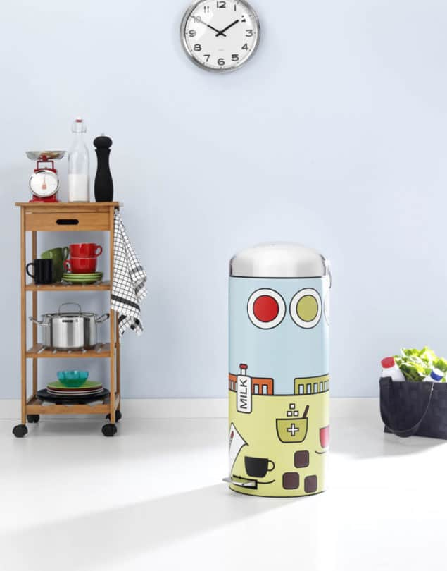 Pop Kitchen Dustbin by Brabantia