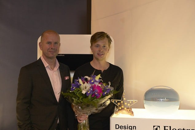 Rickard Hederstierna wins Electrolux Design Lab 2009