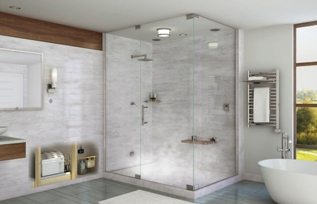 Steam Shower by Mr Steam