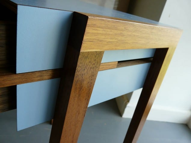 Close up Animate Bedside Table by Young & Norgate