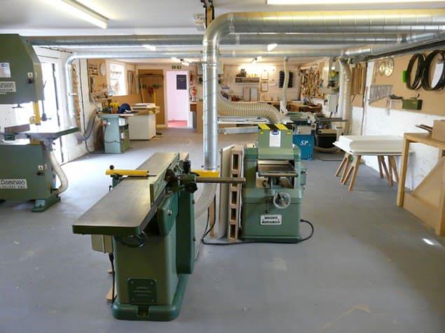 Young & Norgate Workshop in Devon