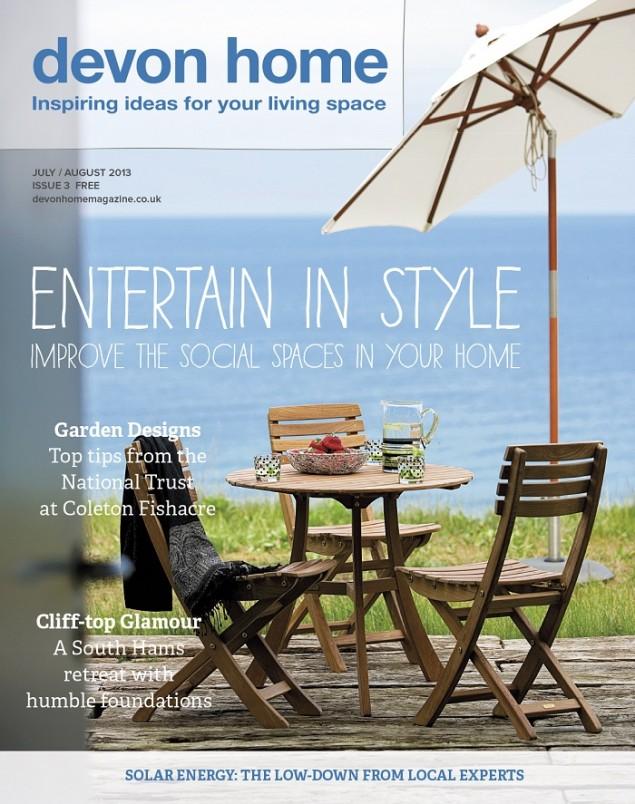 Devon Home Magazine July/August 2013