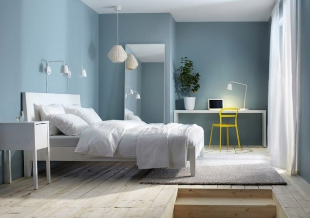 Ikea Catalogue 2014 preview blue bedroom