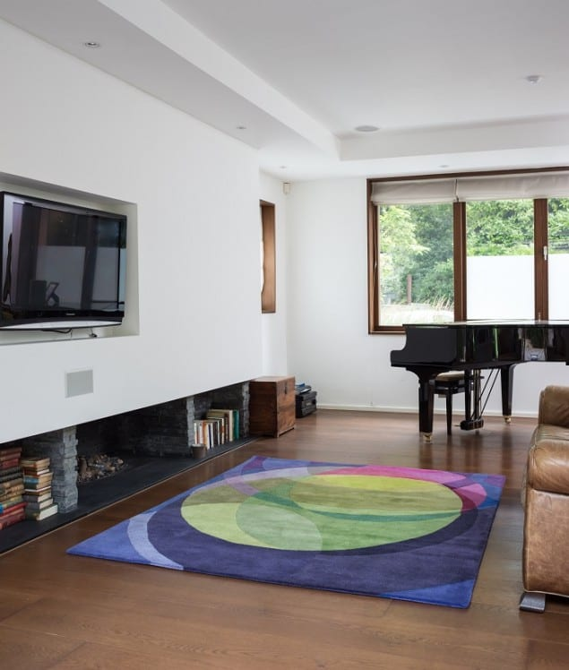 Sonya Winner Galaxy Rug in situ