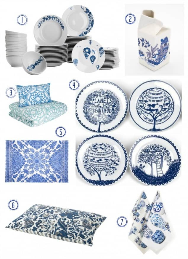 Delft inspired home interior products from the highstreet