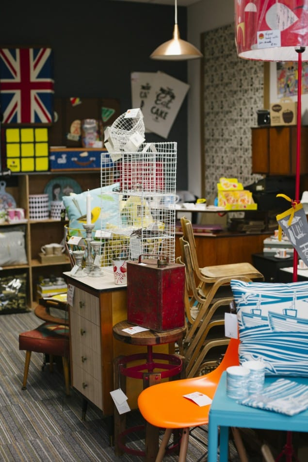 Interior Shot of Live Like The Boy Shop