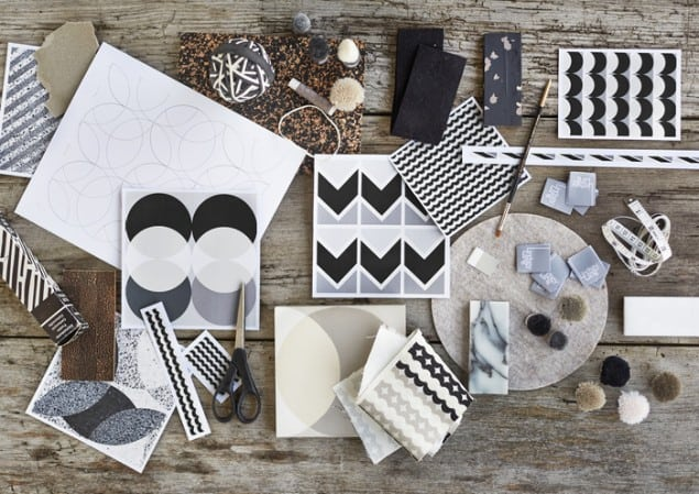 Lindsey Lang Black & White Mood Board