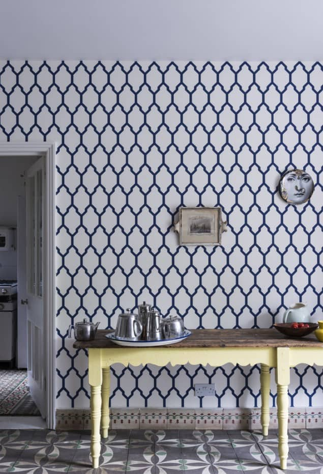 Tessella Bp 3604 Wallpaper by Farrow & Ball