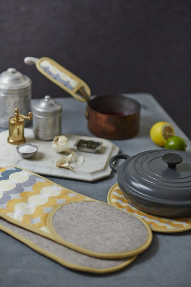 Yellow Eclipse Kitchenware by Lindsey Lang