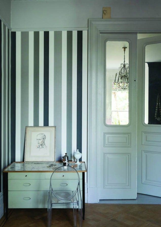 Farrow & Ball Chromatic Stripe ST 4201 wallpaper