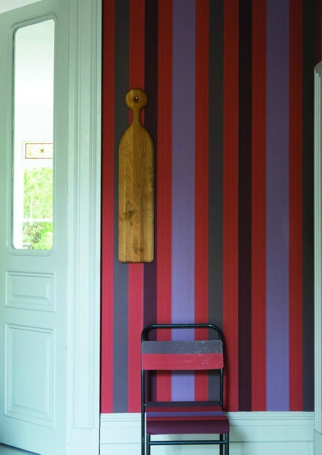 Farrow & Ball Chromatic Stripe ST 4203 wallpaper
