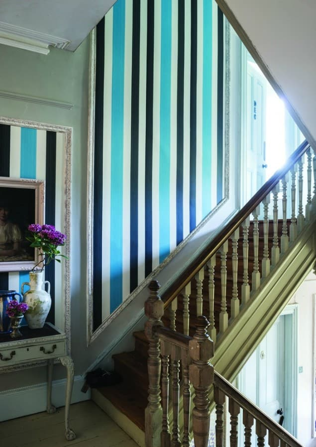 Farrow & Ball Chromatic Stripe ST 4205 wallpaper