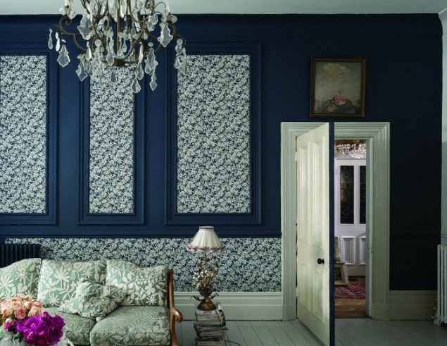 new wallpapers from farrow ball the design sheppard. Black Bedroom Furniture Sets. Home Design Ideas
