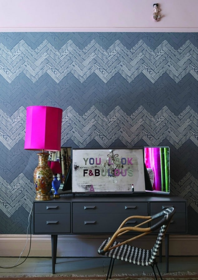 Farrow & Ball Parquet BP 4105 wallpaper