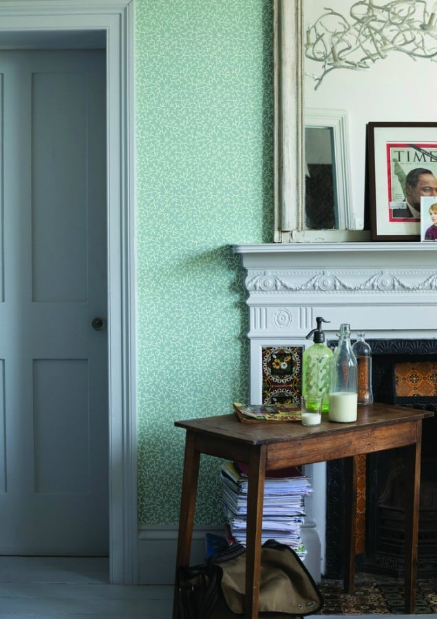 Farrow & Ball Samphire BP 4002 wallpaper