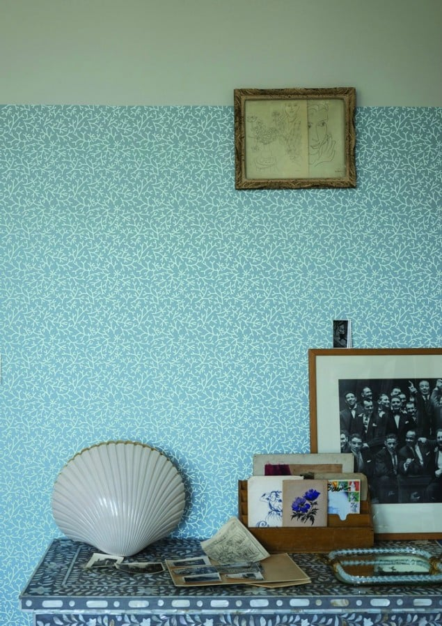 Farrow & Ball Samphire BP 4003 wallpaper