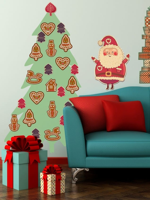 PIXERS adhesive Gingerbread Christmas Tree sticker