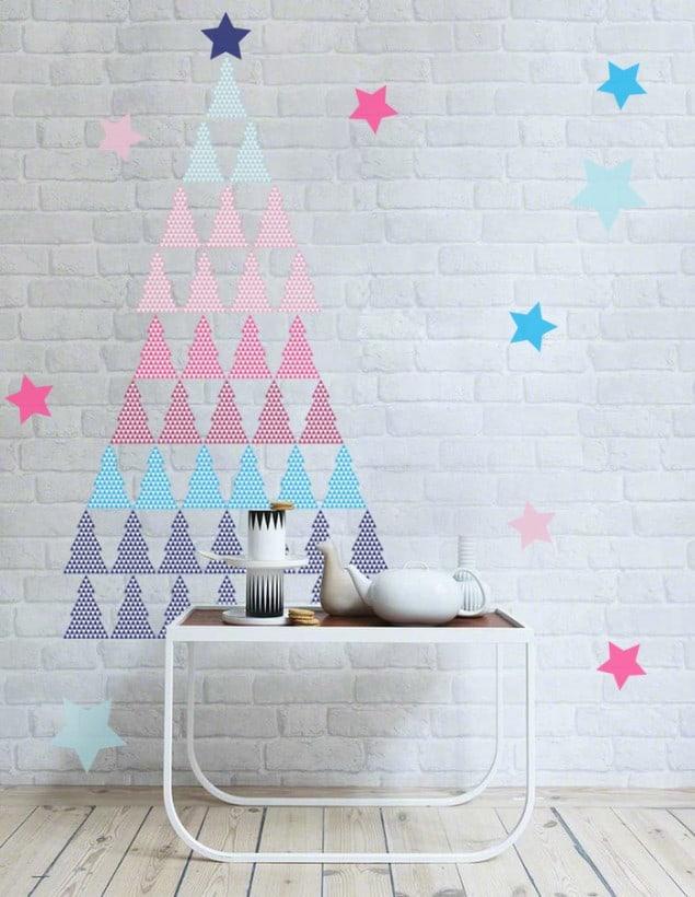 PIXERS adhesive Pastel Christmas Tree sticker