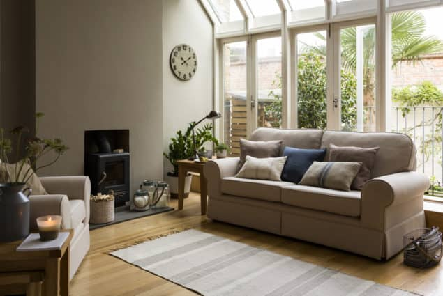 Sainsburys SS14 trend Refined Rustic lounge