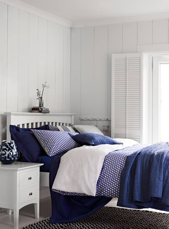 marks and spencer SS14 Indigo bedding