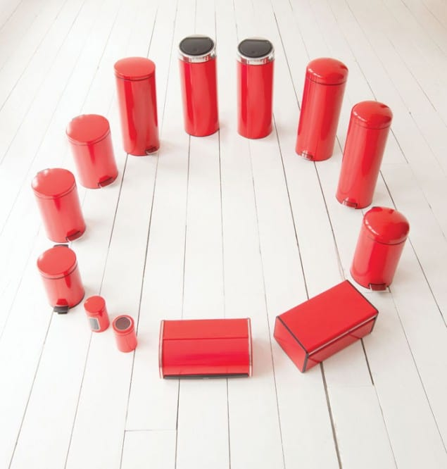 Brabantia Designed for Living Passion Red Collection