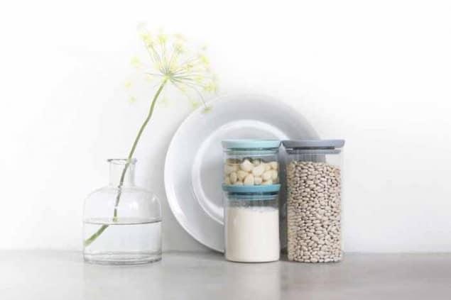 Brabantia Designed for Living Stackable Glass Jars
