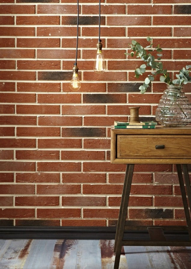 Brick effect tiles from Topps Tiles