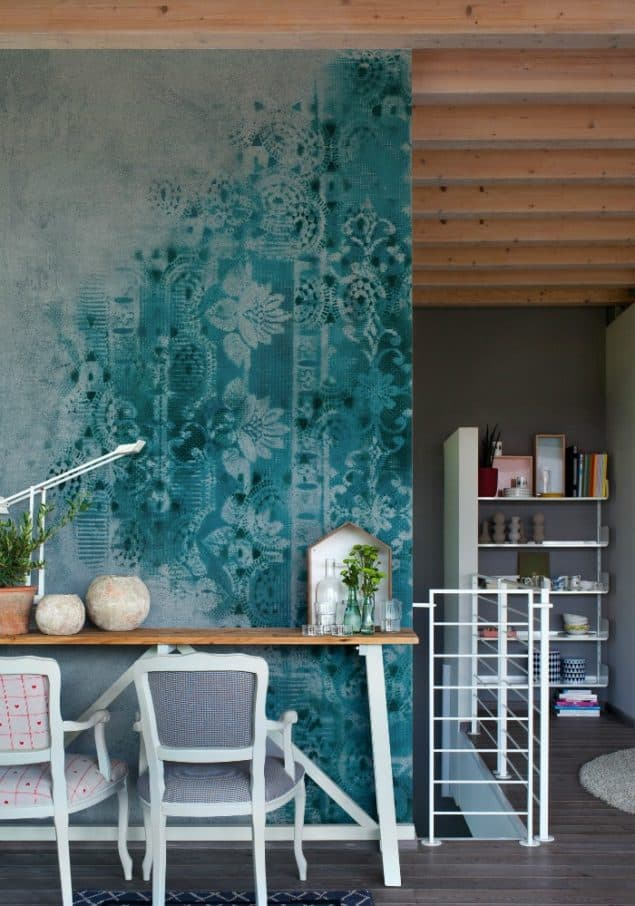 Brush wallpaper by Wall & Deco