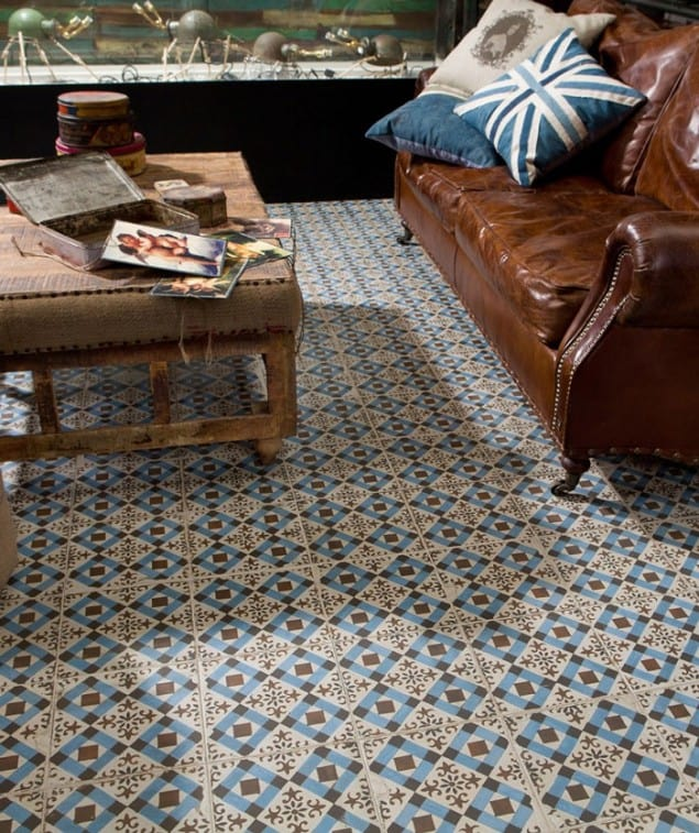 FSWestminster encaustic Victorian tiles from Topps Tiles