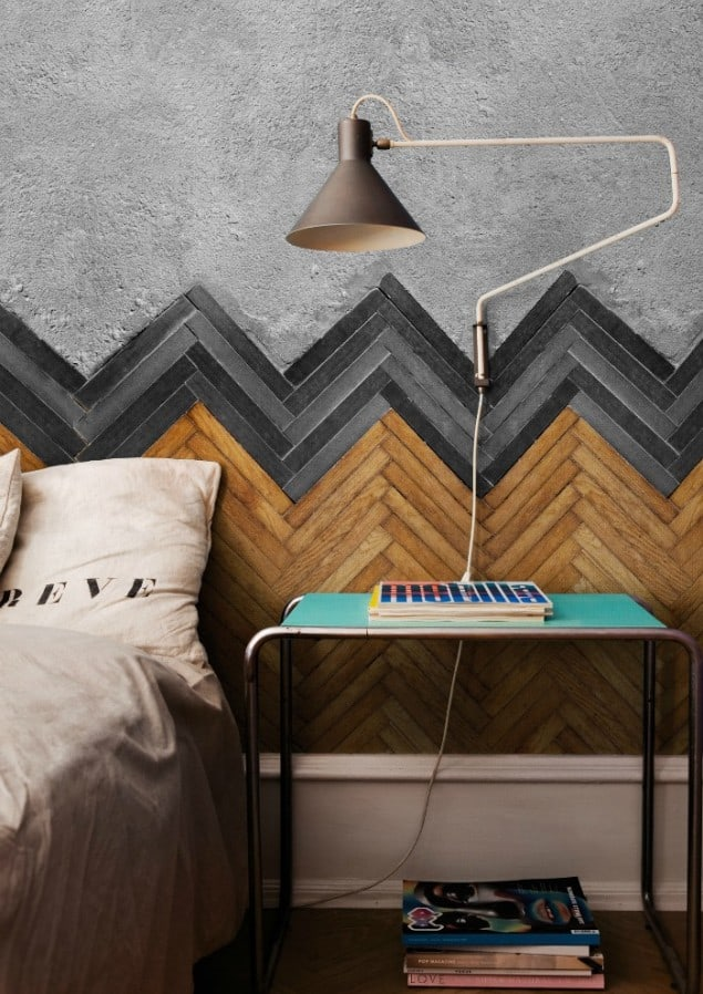 Floor wallpaper by Wall & Deco