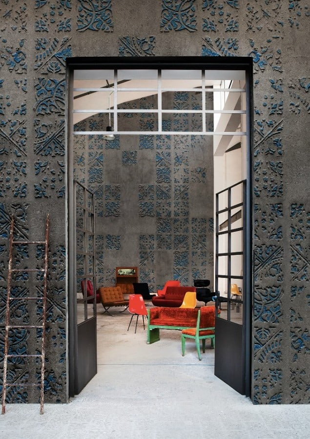 Imprinting wallpaper by Wall & Deco