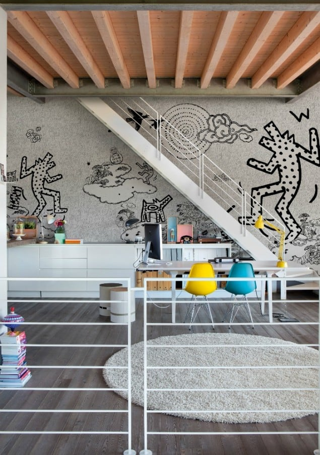 Keith Bau wallpaper by Wall & Deco