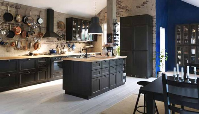 Black Metod Kitchen by Ikea