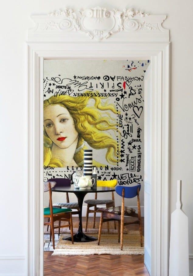 Printemps wallpaper by Wall & Deco