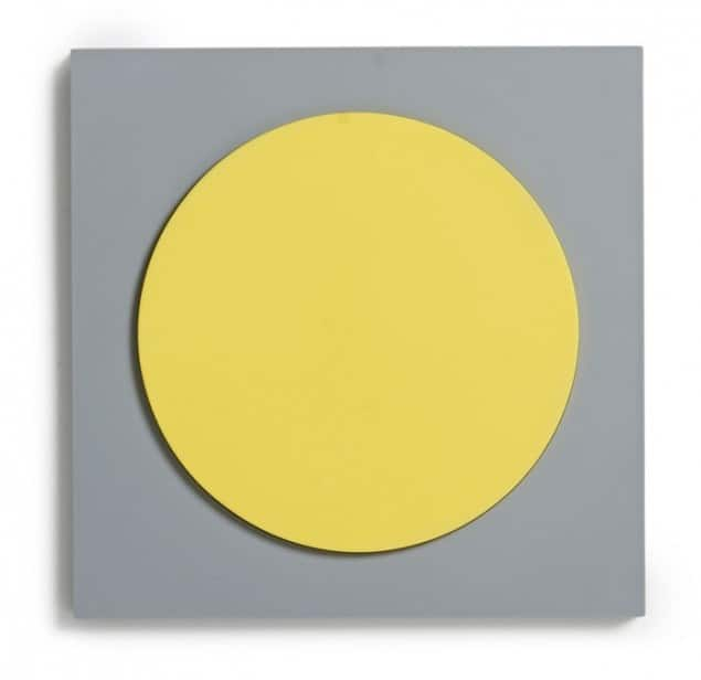 Design Letters & Friends The Hob trivet in grey-yellow