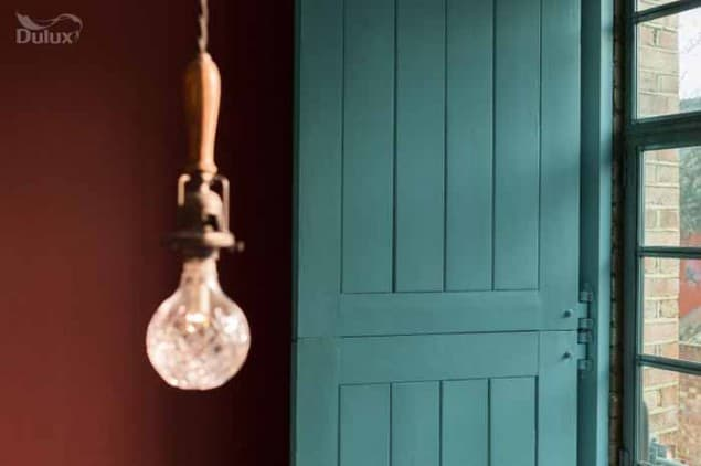 Dulux colour of the Year 2014 TEAL Doorway