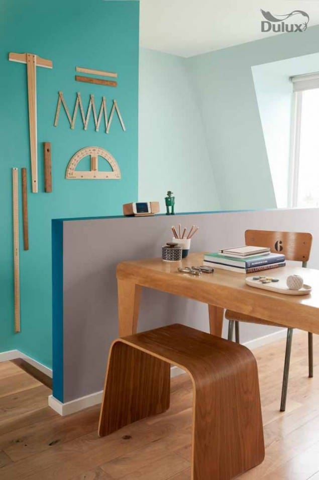 Dulux colour of the Year 20Dulux colour of the Year 2014 TEAL accent wall14 TEAL accent wall