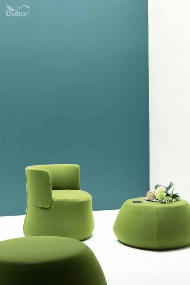 Dulux colour of the YearDulux colour of the Year 2014 TEAL seating area 2014 TEAL seating area