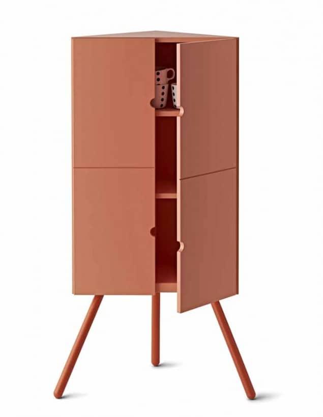 IKEA PS 2014 Corner cabinet £65 Pink