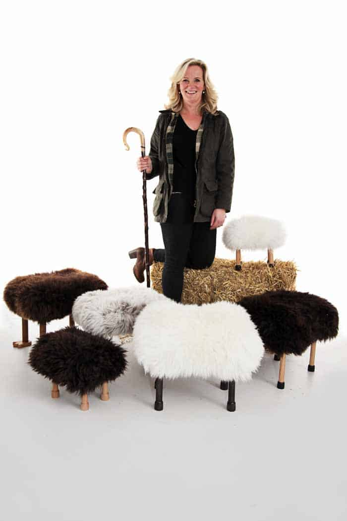 The Sheep Inspired Baa Stool The Design Sheppard