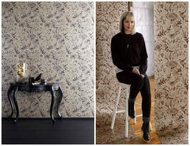 Emma J Shipley Paradisi I & Paradisi II Wallpaper New Wave Graham & Brown
