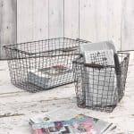 Grille storage basket by Loaf