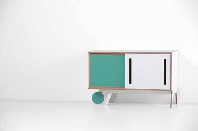 Clavio Smart Sideboard by Chiara Pellicano for Formabilio
