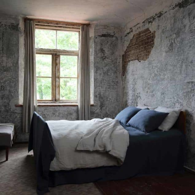 LinenMe Bedding Blue Silver