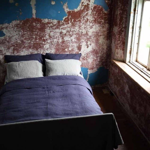 LinenMe Bedding Cobalt Taupe